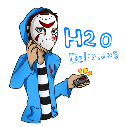 H2o drawing cartoon. H o delirious by