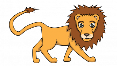 Drawing lions easy. Jungle clipart lion