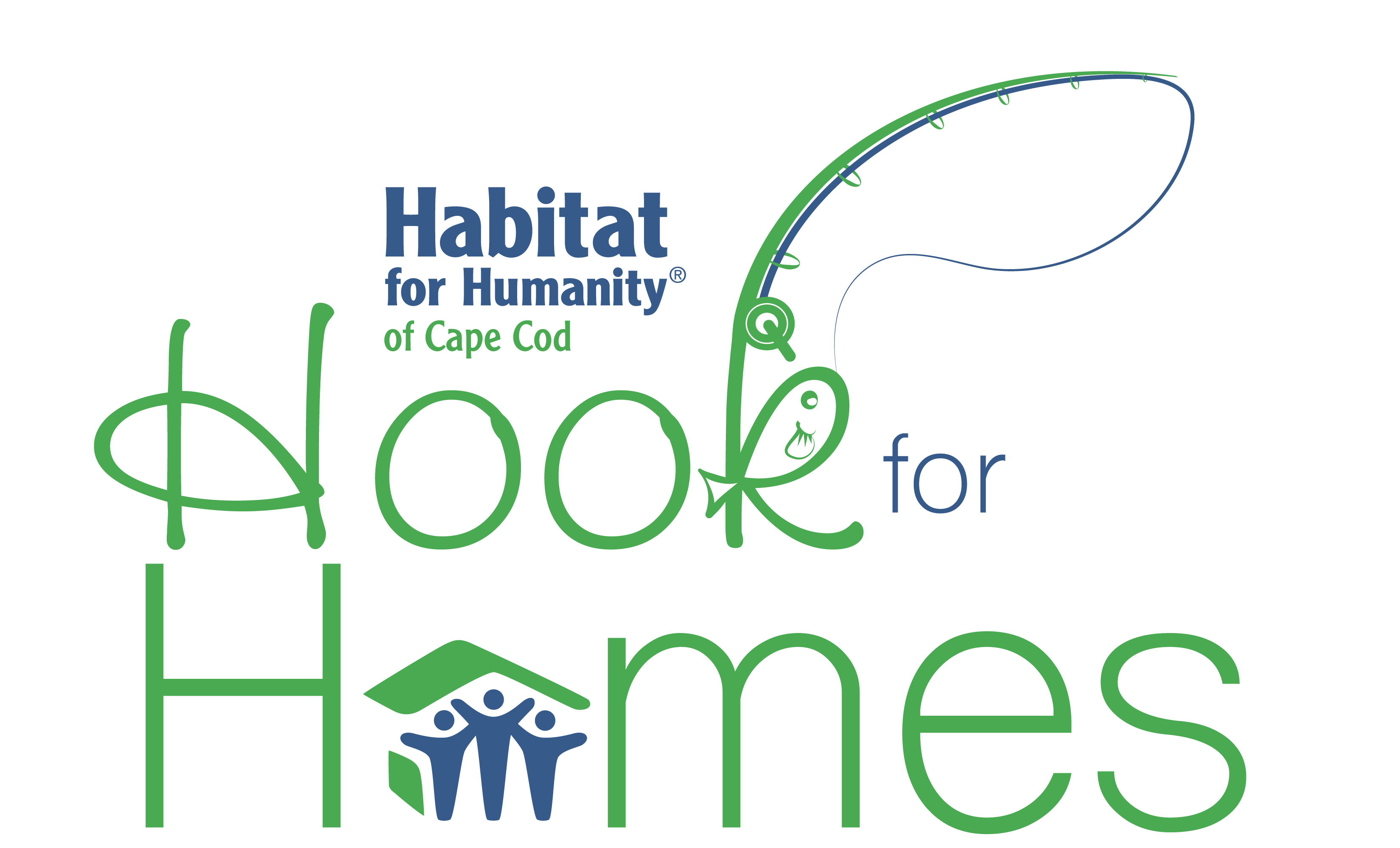 Habitat drawing background. For humanity cape cod