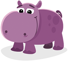 Habitat drawing hippo. About patricia the facing