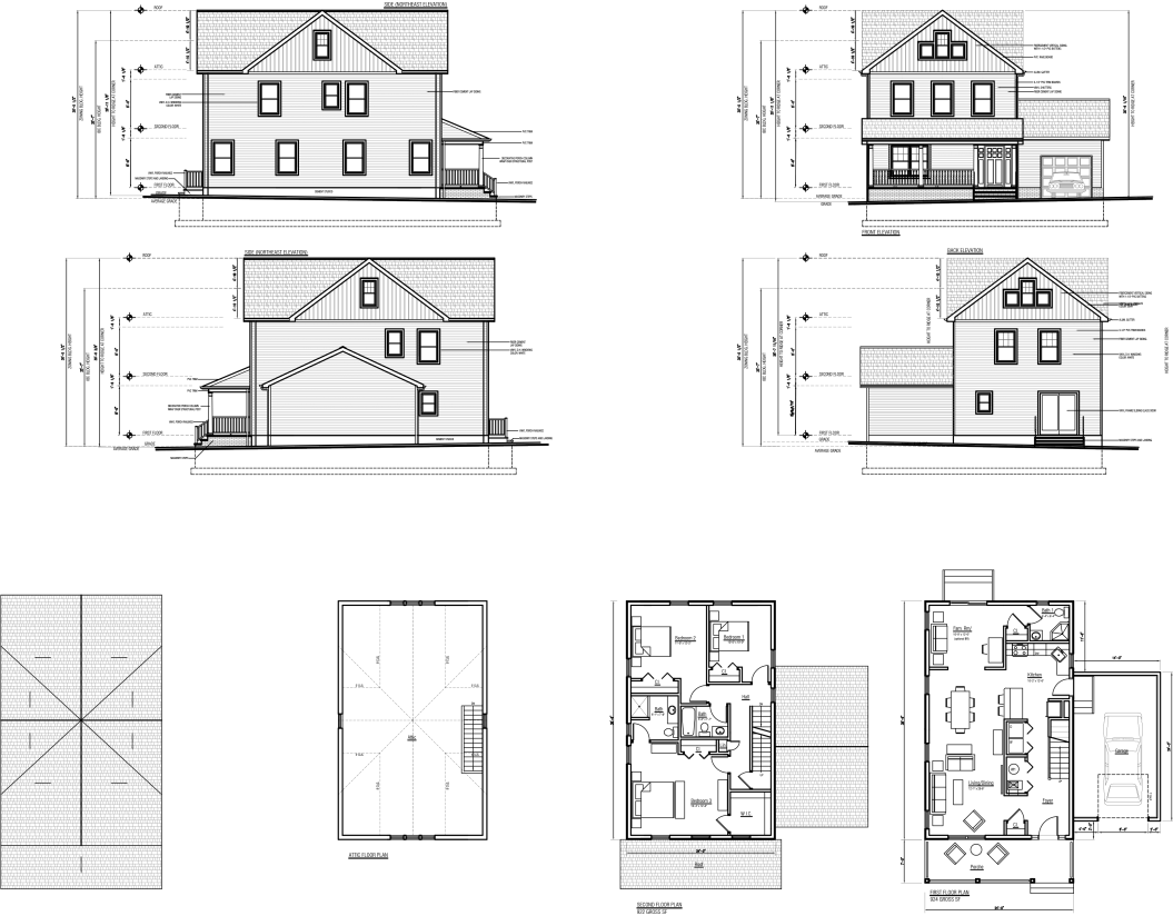 Habitat drawing house. Upcoming for humanity of