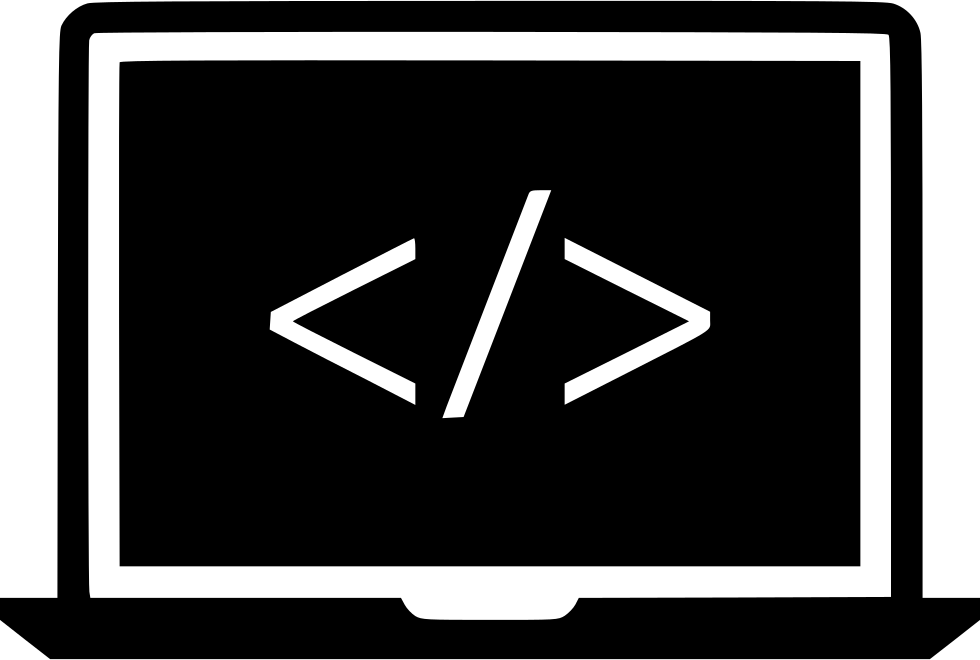 Hacker vector icon. Hack code svg png