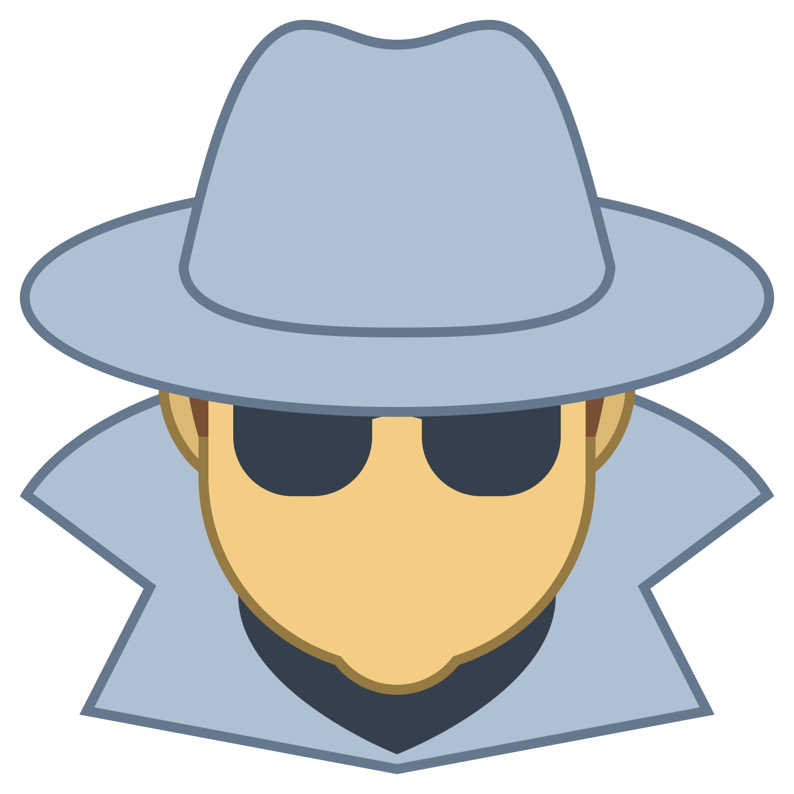Hacker vector spy. Free icon download on