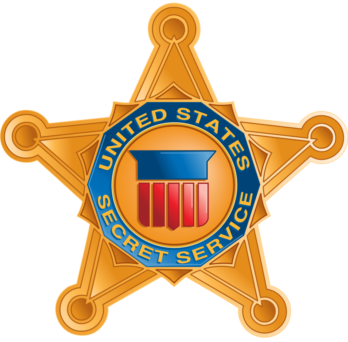 United states secret service. Vector submachine kid png transparent library