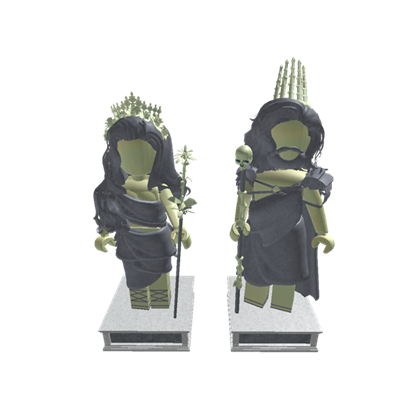Hades statue png. Persephone statues roblox