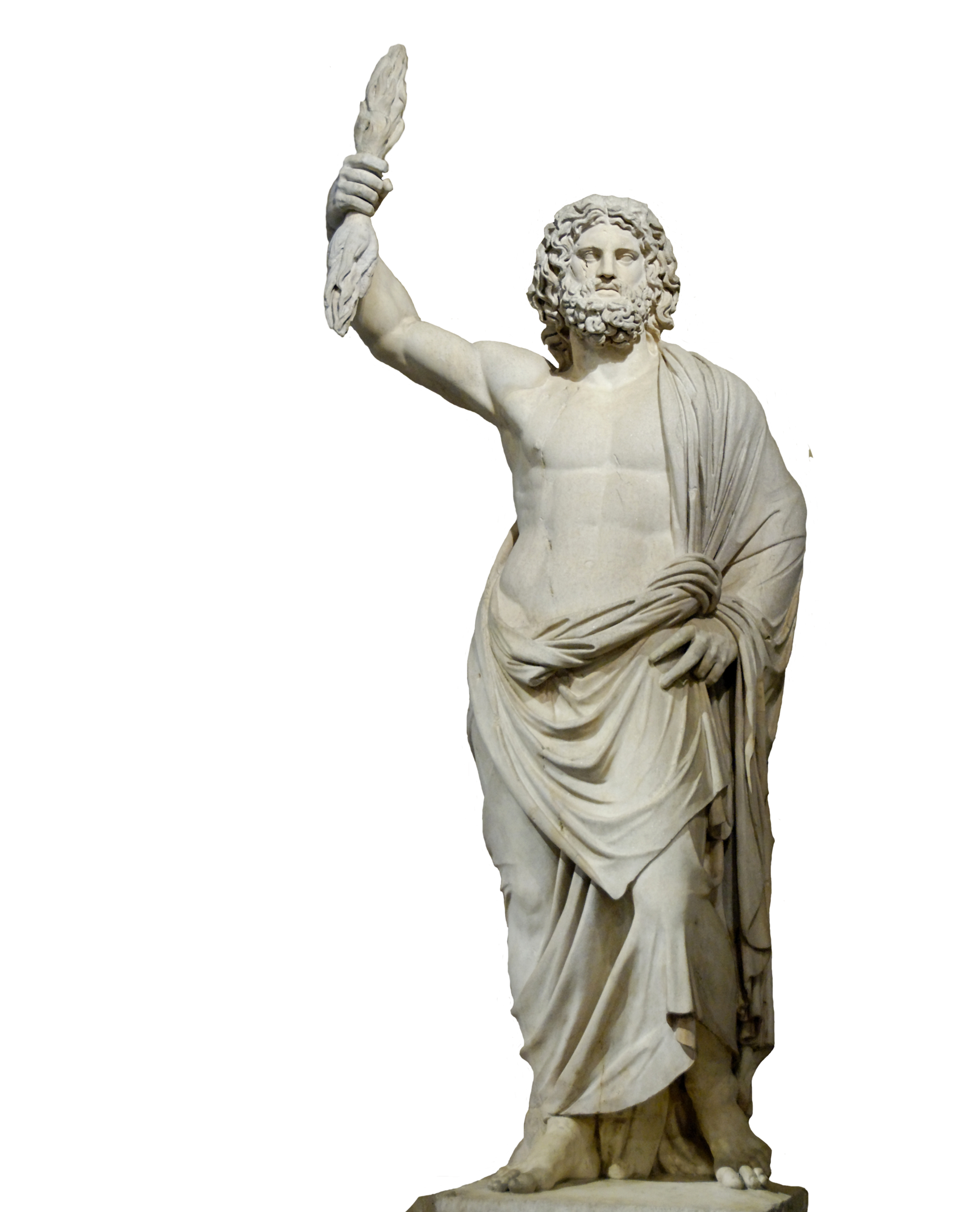 Hades statue png. Of zeus at olympia
