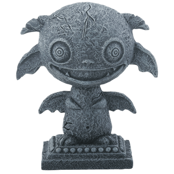 Hades statue png. Baby gargoyle sc from