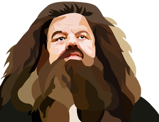 Hagrid drawing cool. Harry potter by whovianpoprocks