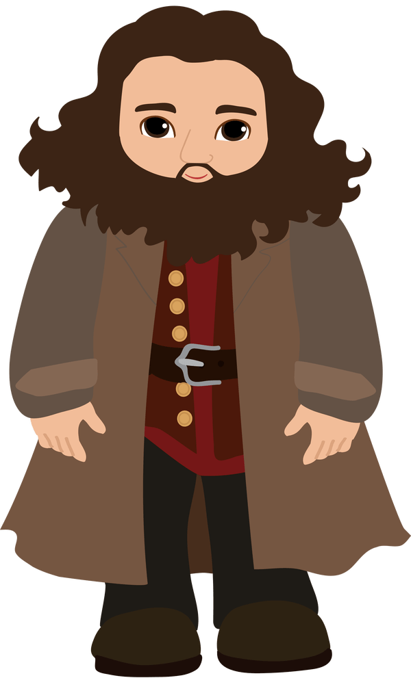 Hagrid drawing cool. Harry potter pictures