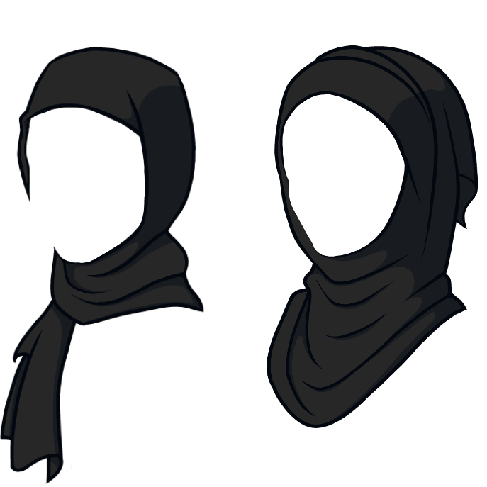 Hagrid drawing balaclava. Queen quiddy designs hijabs