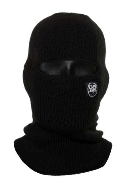 Hagrid drawing balaclava. Black capitahl