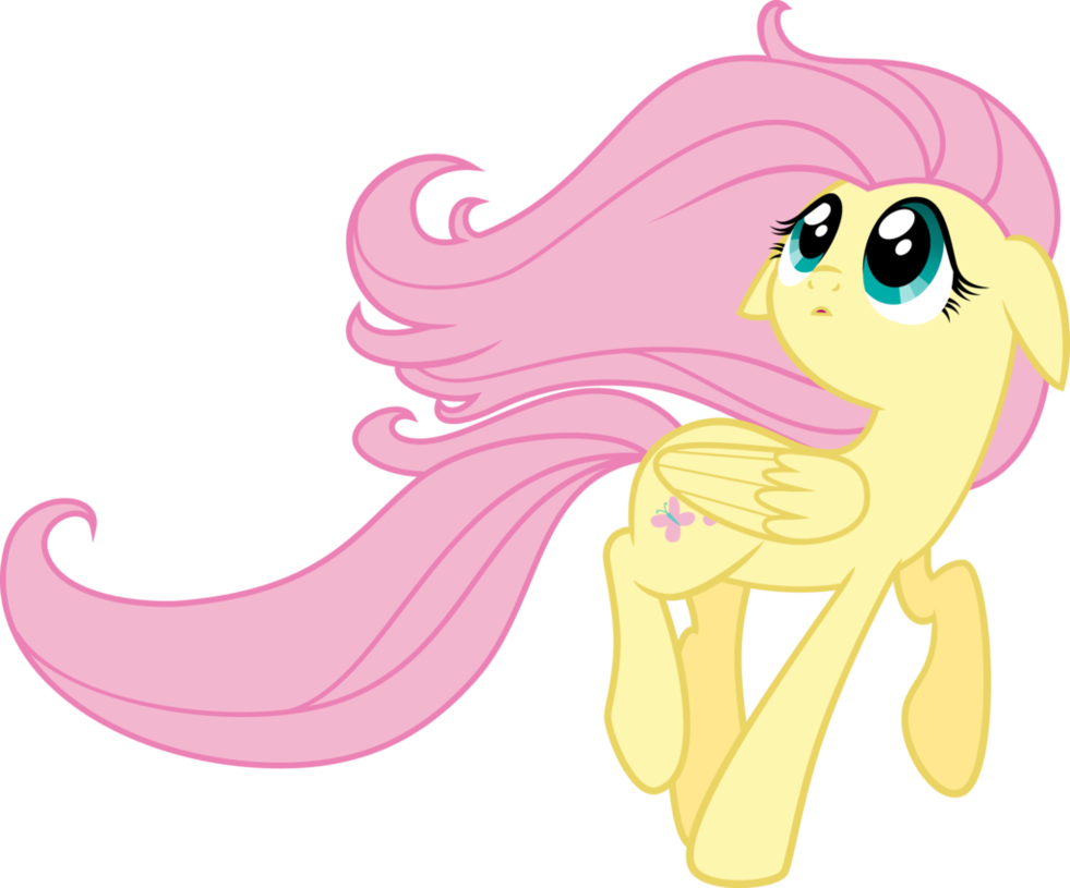 Hair blowing in the wind png. Fluttershy by nianara on
