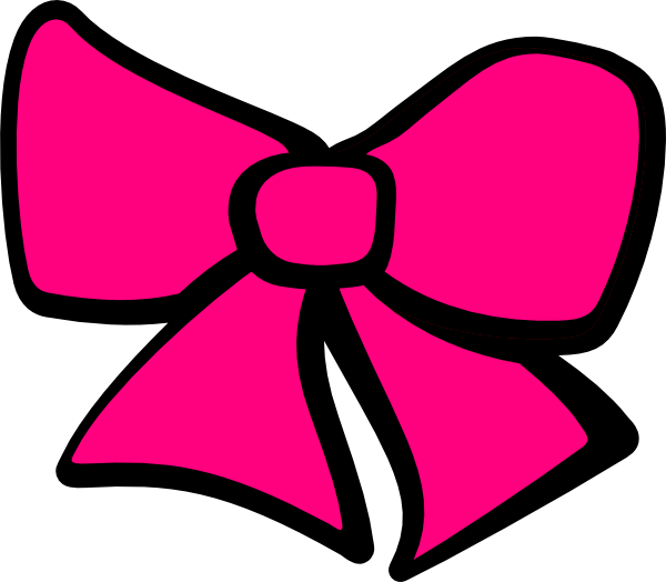 Hair bow png. Clip art at clker