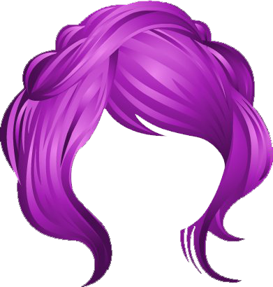 Rainforest nomi purple gallery. Hair clip art png png royalty free download