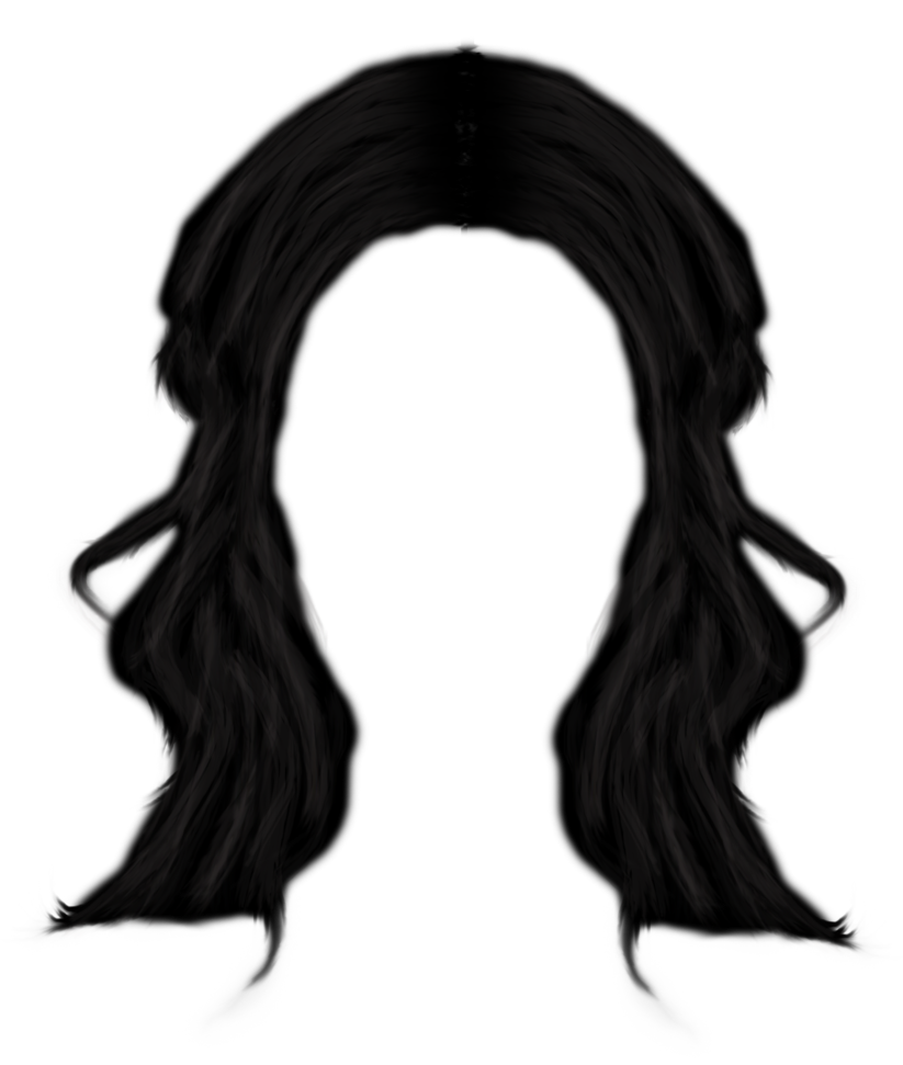 Long hair png. Clipart afro transparentpng