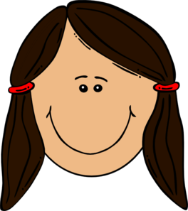 Clip art girl . Hair clipart png library