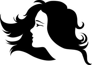 Clip art free download. Hair clipart vector download
