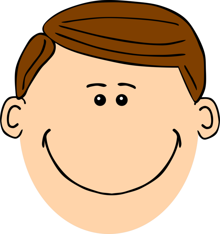 Skin clipart face. Brown hair computer icons