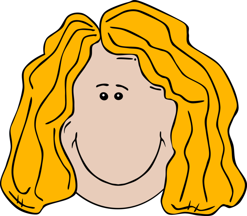 Hair clipart animated. Wig blond coloring brown