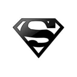 Black and white superman logo png. Free icon download kingdom