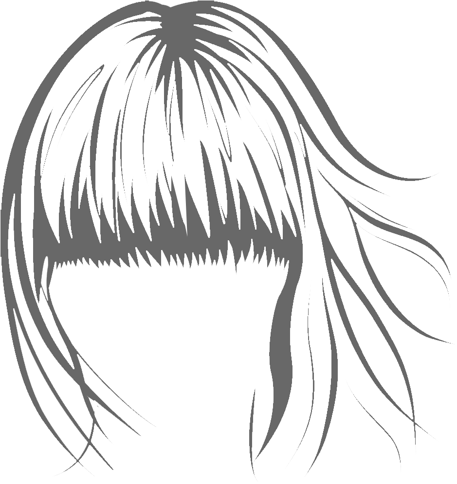 Drawing i hairstyle. Download jpg royalty free