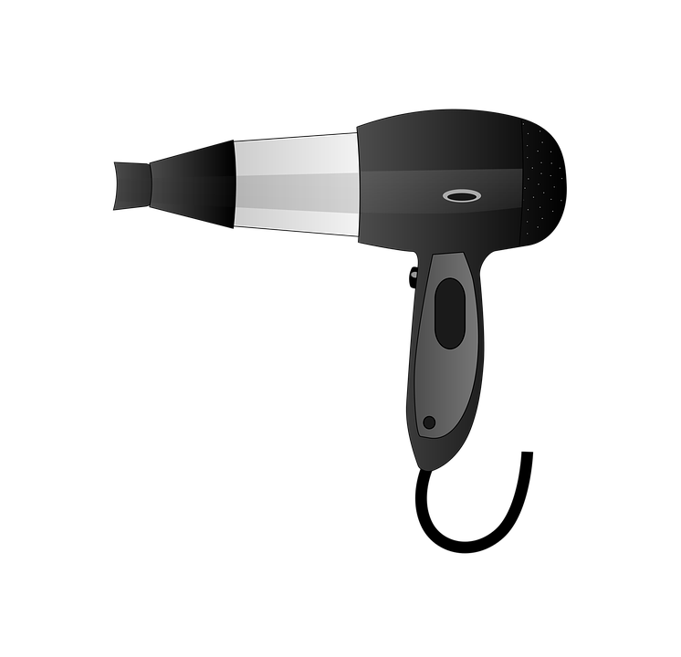 Hair dryer and scissors png. Blow transparent hairdresser