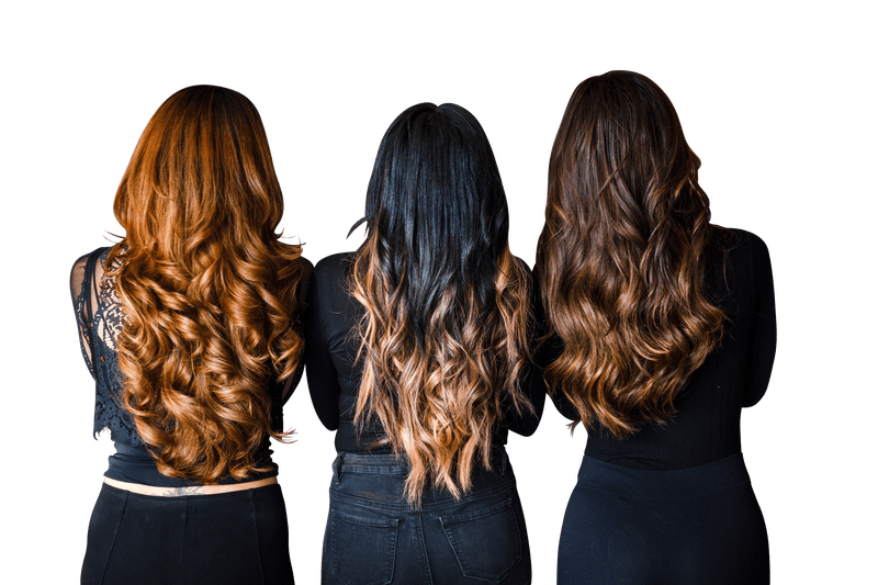 Hair extensions png. All about by the