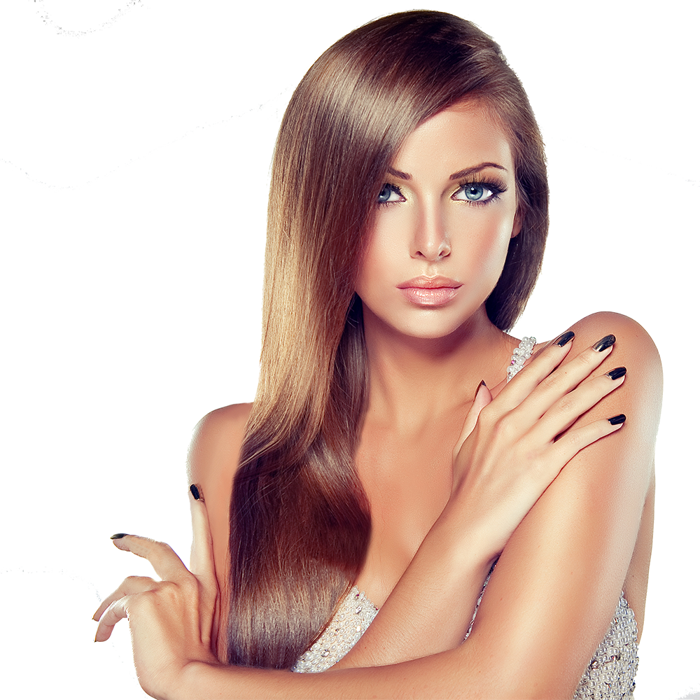 Hair model png. Charm beauty center about