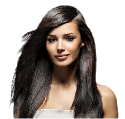 Hair model transparent png. Buy mesotherapy products and