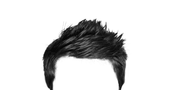 Long male hair png. All