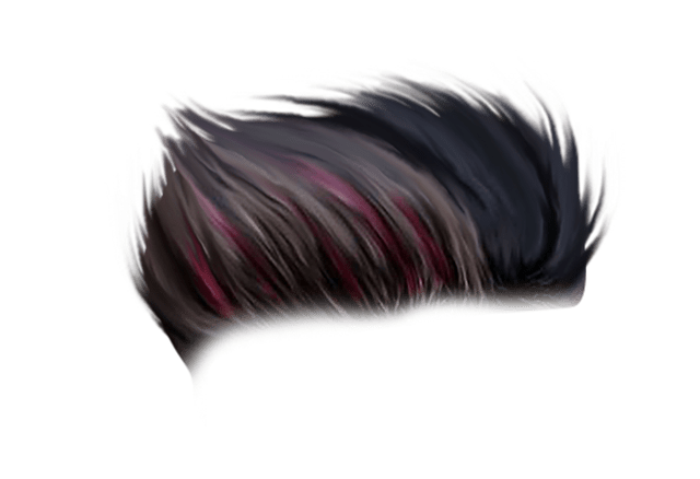 Hair png images. Sr editing zone sample