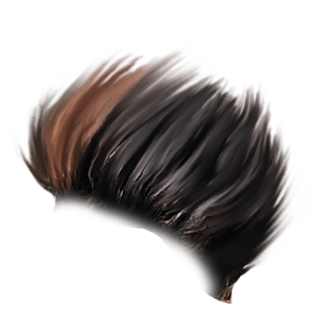 Hair png photoshop. Sr editing zone sample