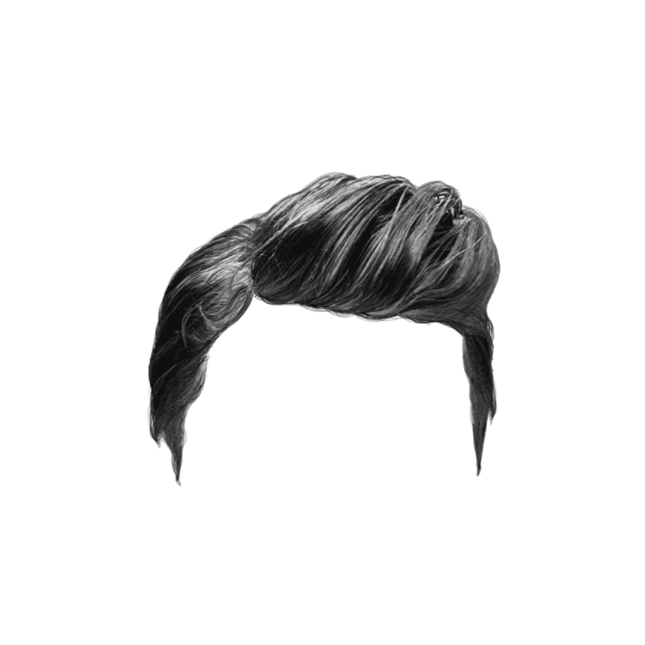 Hair png photoshop. For men style