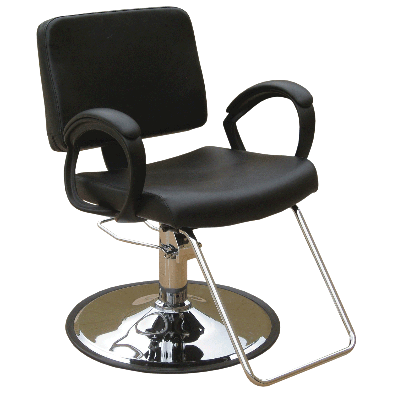 Hair stylist chair png. Puresana ava styling with