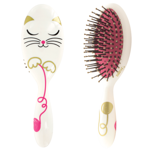 Hairbrush clipart cat. Ladypop small white pylones