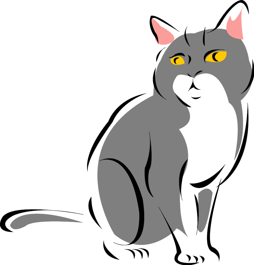 Vector cats file. Free cartoon images of