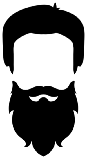 Haircut clipart beard style. Care choosing the right