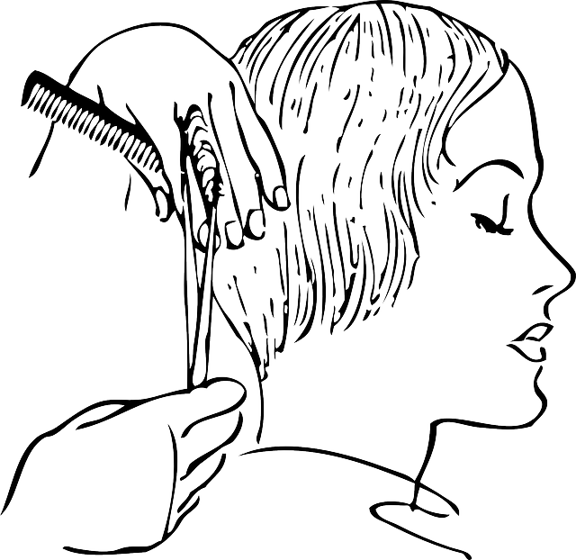 Haircut clipart black and white. Turkey leg freeuse library