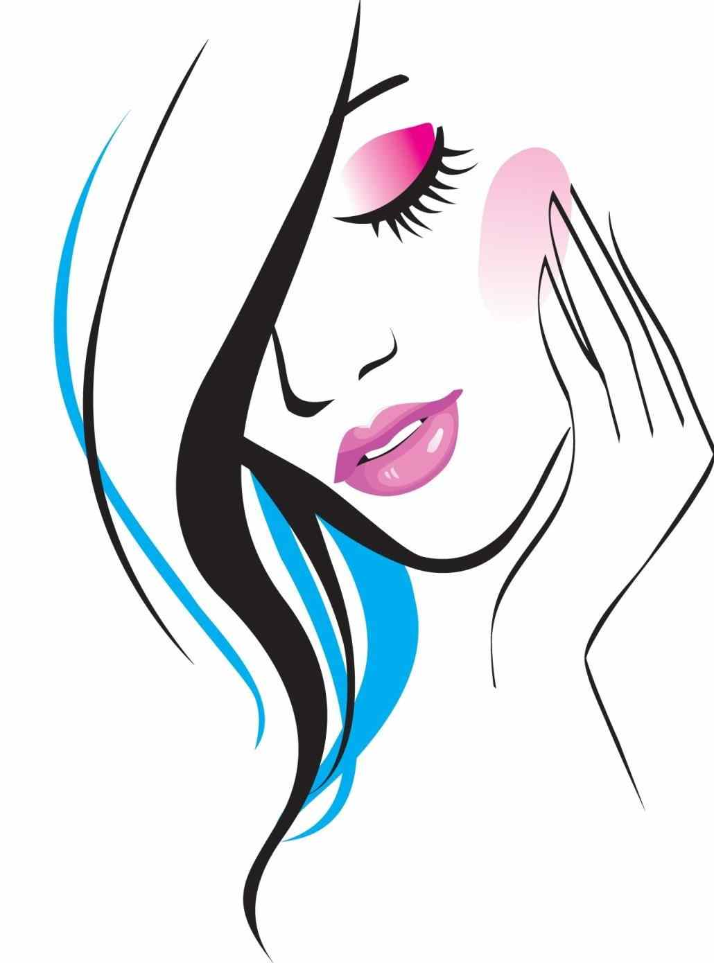 Hairdresser clipart beauti. Beauty salon at getdrawings