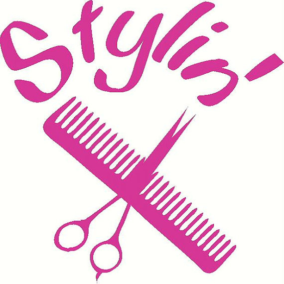 Hairdresser clipart pink. Beauty salon at getdrawings