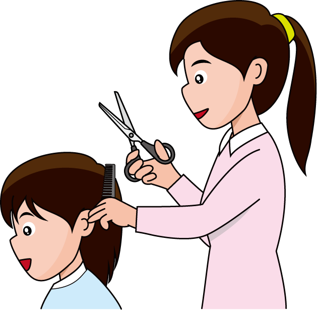 Hairdresser clipart transparent. Beauty salon at getdrawings