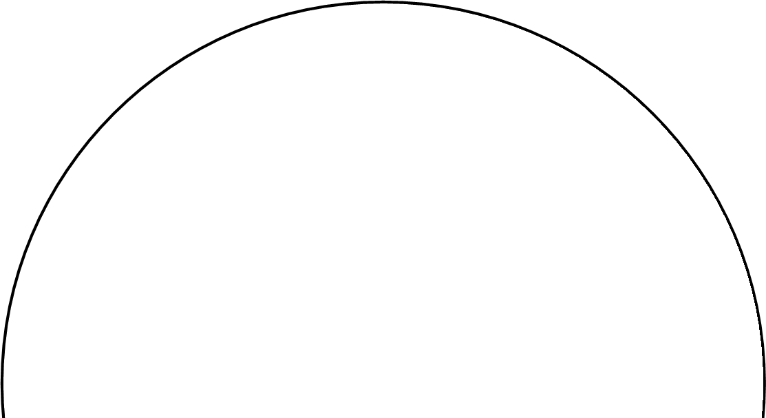 Half circle png. Placecards with standup link