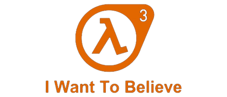 Half life 3 logo png. Rumor coming after and