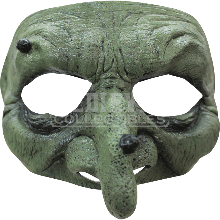 Half mask png. Warty witch hs by