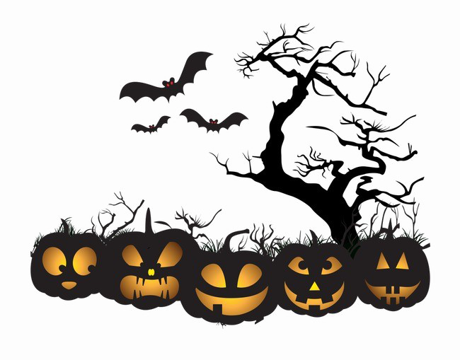 Image vector clipart psd. Halloween background png transparent