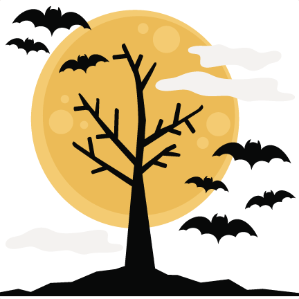 Format images of tree. Halloween background png jpg library download