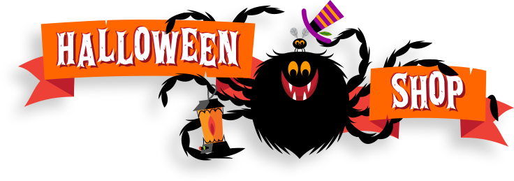 Halloween sale png. Online shops costumes accessories