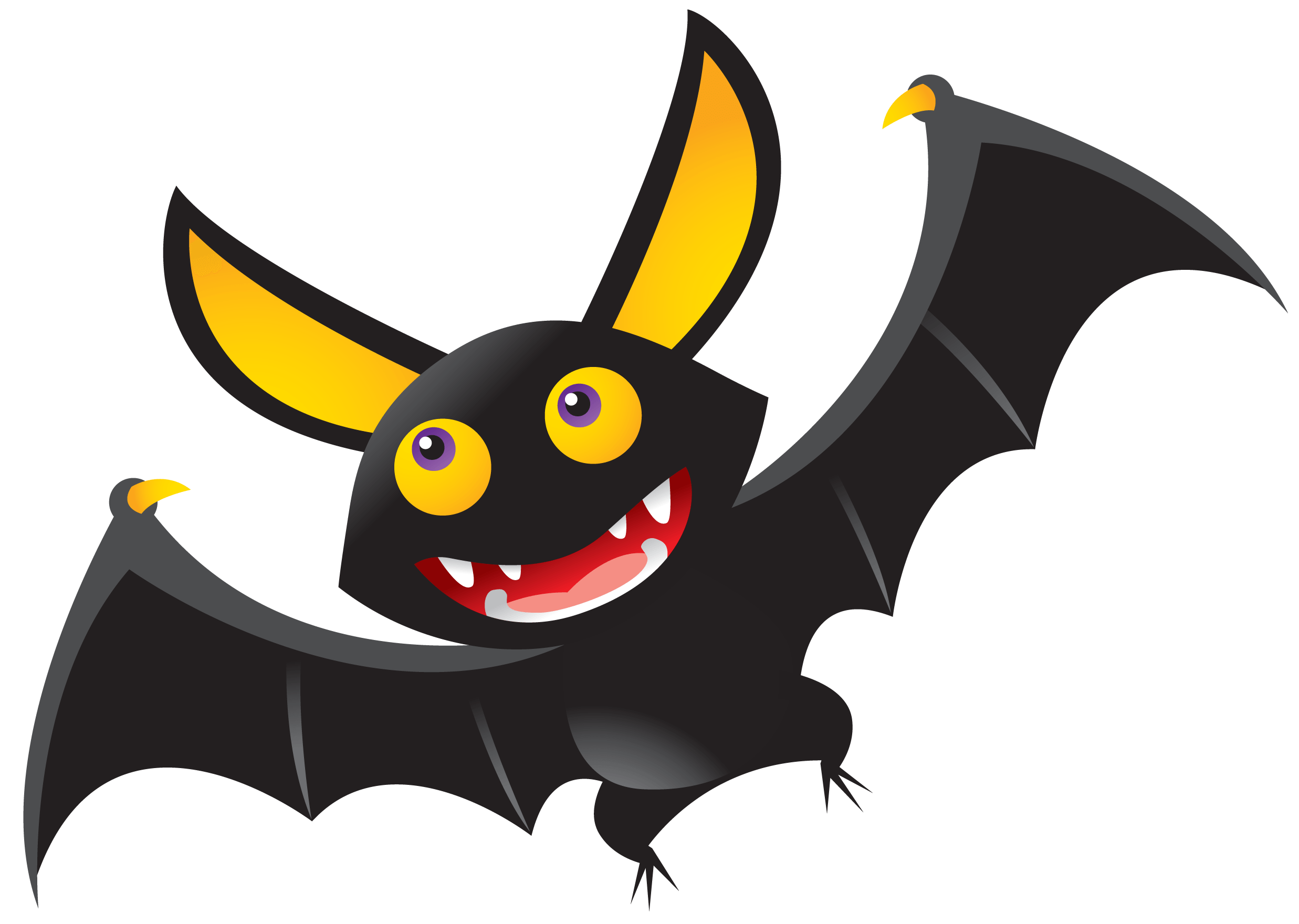 Halloween bat png. Illustration transparent stickpng