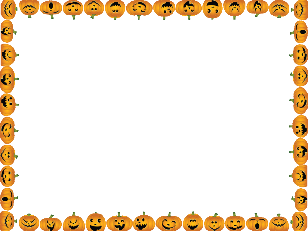 Halloween borders png. Border high quality image