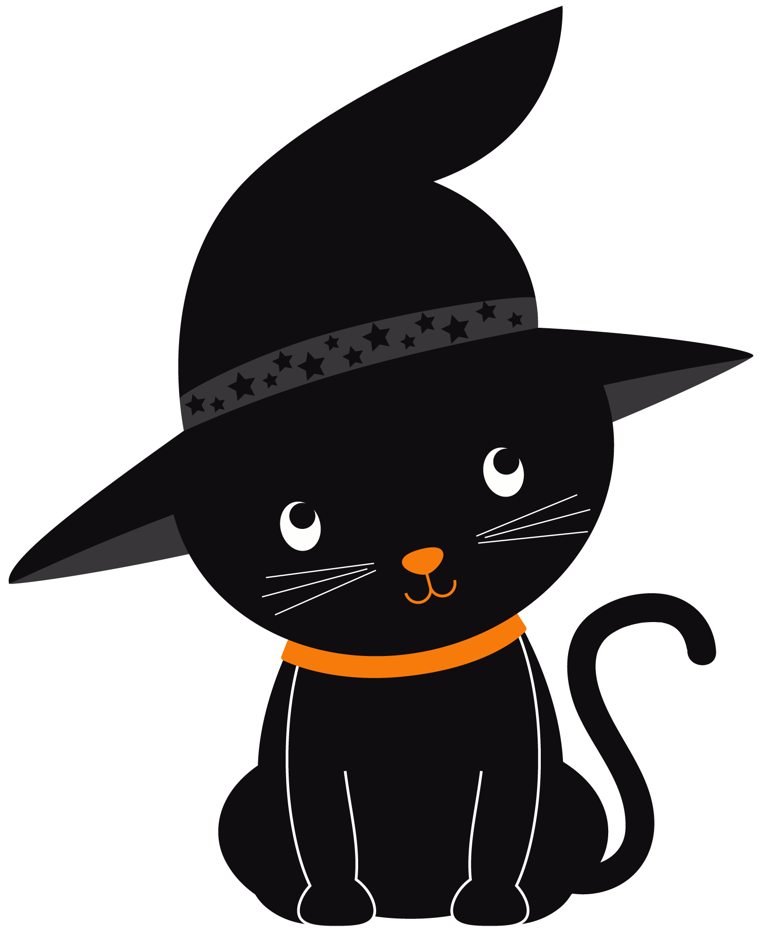 Halloween cat png. Black image background arts